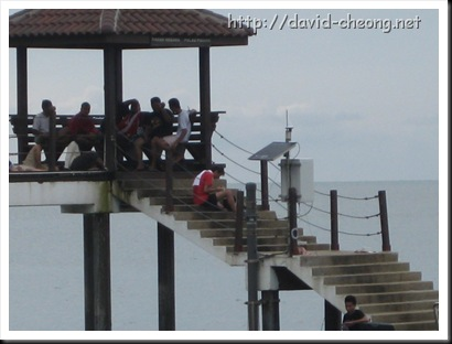 Jetty at Pantai Kerachut