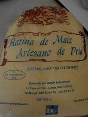 tortos, harina