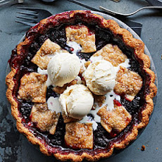 Anjou Bakery's Marionberry Pie
