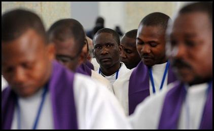 sacerdotes africanos