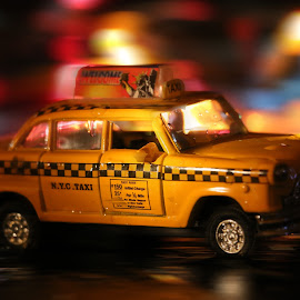 Toy NYV cab by Maggi Carless - Artistic Objects Toys ( cab, taxi, toy, nyc taxi, toy cars )