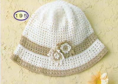 العدد الثانى.....مجلة قبعات كروشى(بالباترون)