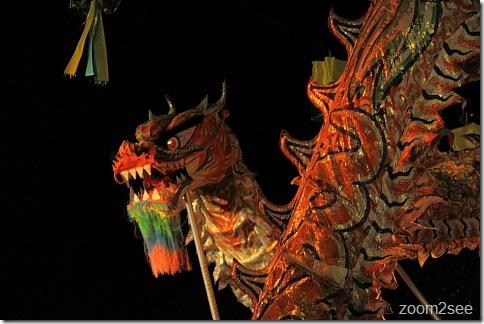 Dragon Dance at Esplanade