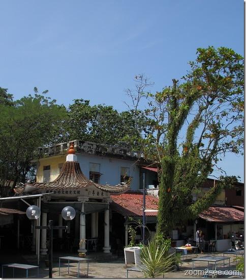 Sea Pearl Lagoon Cafe near Tua Pek Kong Temple, Tanjung Tokong Penang