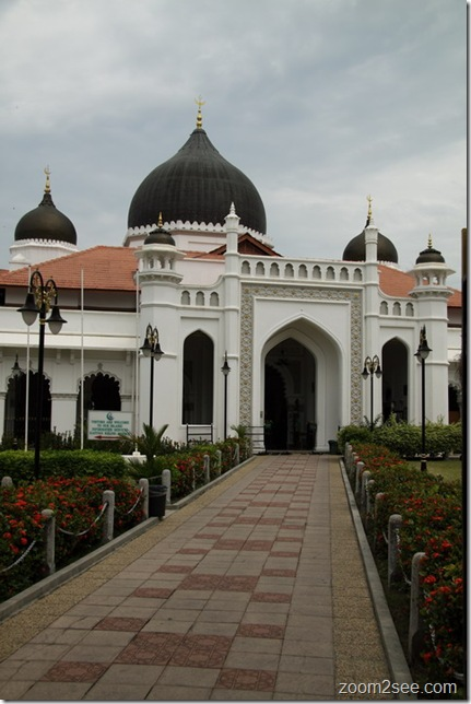 Masjid Kapitan Keling - Penang's top 12 most popular attractions by zoom2see.com