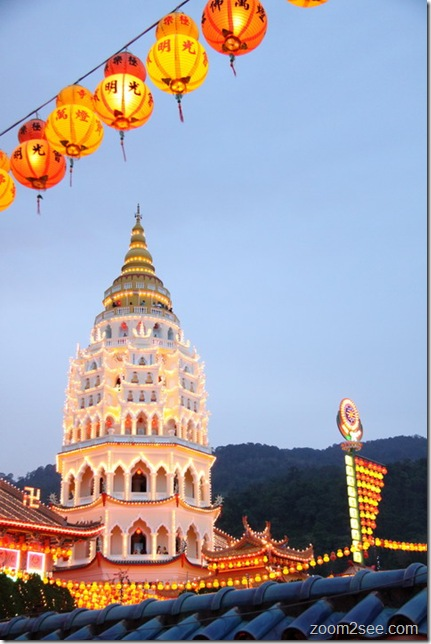 Kek Lok Si - Penang's top 12 most popular attractions by zoom2see.com