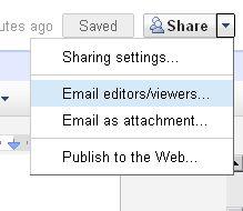 พิมพ์เอกสารด้วย Google docs