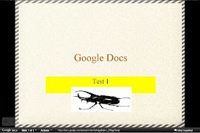 สร้าง Presentation ด้วย Google Docs