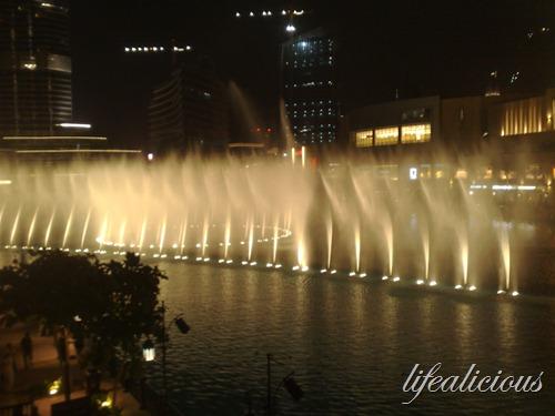 The Dubai Mall Fountain