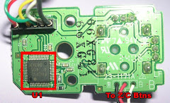 Wii-Nunchuck Controller PCB
