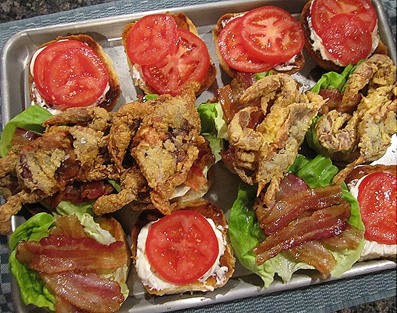 Soft Shell Crab BLT's