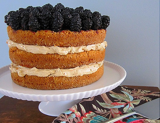 Blackberry-Brown Sugar Cake
