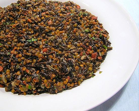 Wild Rice & Green Lentils