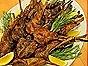 Lemon & Rosemary Marinated Lamb Chops