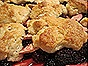Blackberry-Apple Cobbler