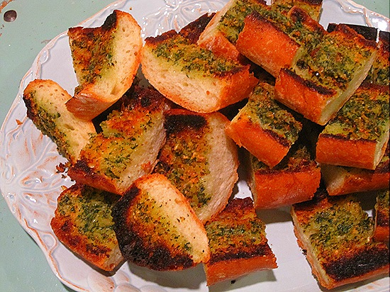 Hot Garlic Bread!