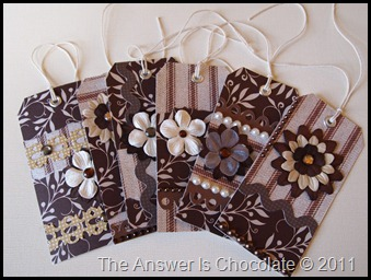 Chocolate Tags