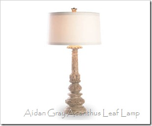 aidan gray acanthus leaf lamp