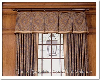 HB box pleat valance