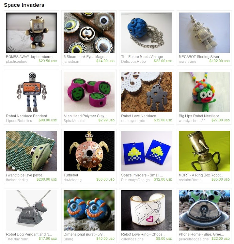 Etsy Picks: Space Invaders