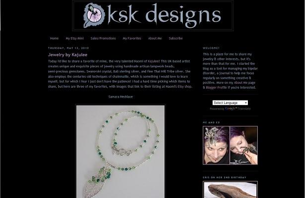 KSK Designs Blog 2010
