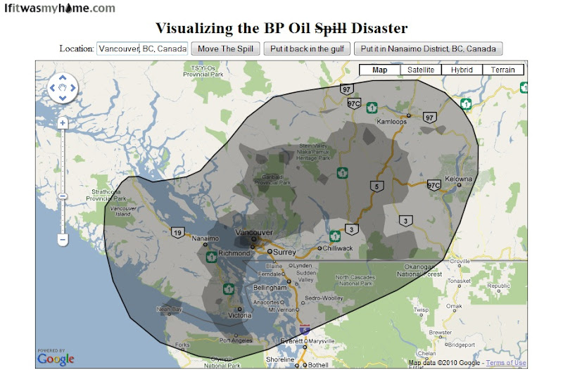 If it Was My Home - Vancouver Under the BP Oil Spill