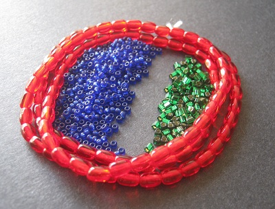 Red Green Blue Bead Palette