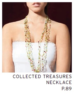 Collected Treasures Crochet Necklace by Esther Zadock