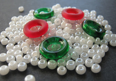 Christmas Candy Bowl Bead Palette
