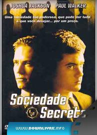 Capa Sociedade Secreta Dublado