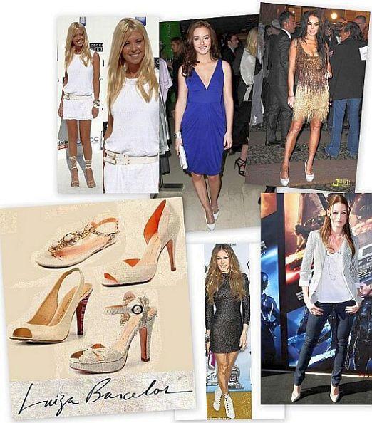 Como usar sapatos brancos?