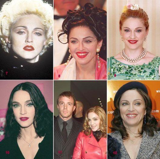 História da Madonna
