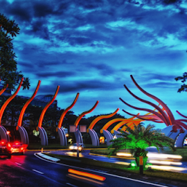 The Way to go Home by Ony Suprastio - City,  Street & Park  Street Scenes