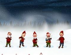 enanos navidad