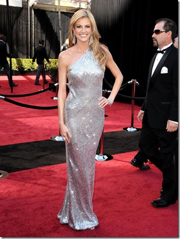 TV personality Erin Andrews arrives at the 83rd Annual Academy A
