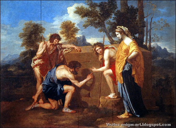 "Nicolas Poussin, ""Et in Arcadia ego"", 1637-1639, France"