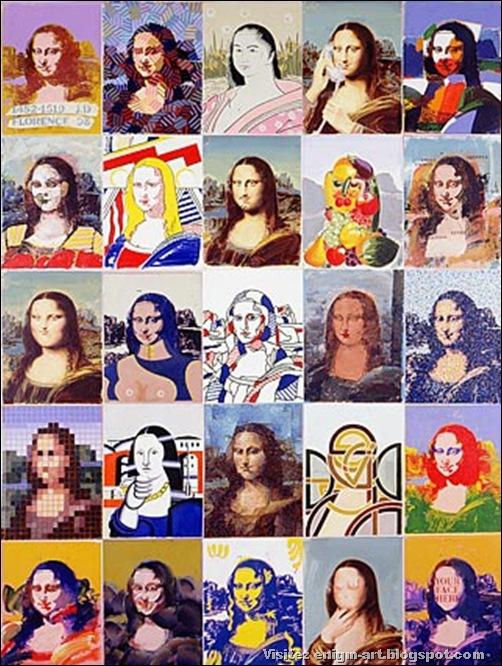 Paul Giovanopoulos, Mona Lisa (1988)