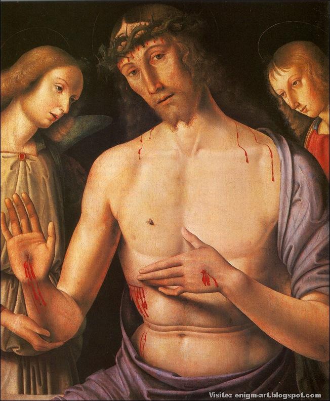 Giovanni Santi, Christ de pitié, 1490