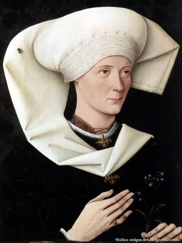 Annonyme, Portrait de femme, XVème siècle
