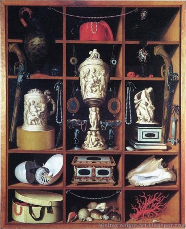 Georg Haintz, Cabinet de curiosité, 1666