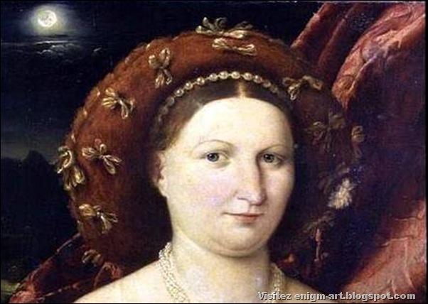 Lorenzo Lotto, Portrait de Lucina Brembati, 1523-3