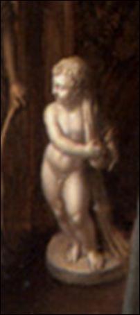 Détail, Anonyme Flamand, Allégorie de l'art et de la science, 1622-1629
