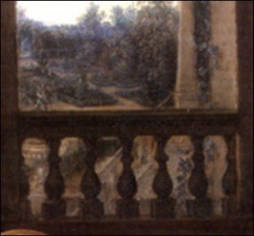 Détail, Anonyme Flamand, Allégorie de l'art et de la science, 1622-1634