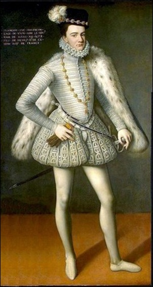 Portrait de François duc d'Alençon, 1572