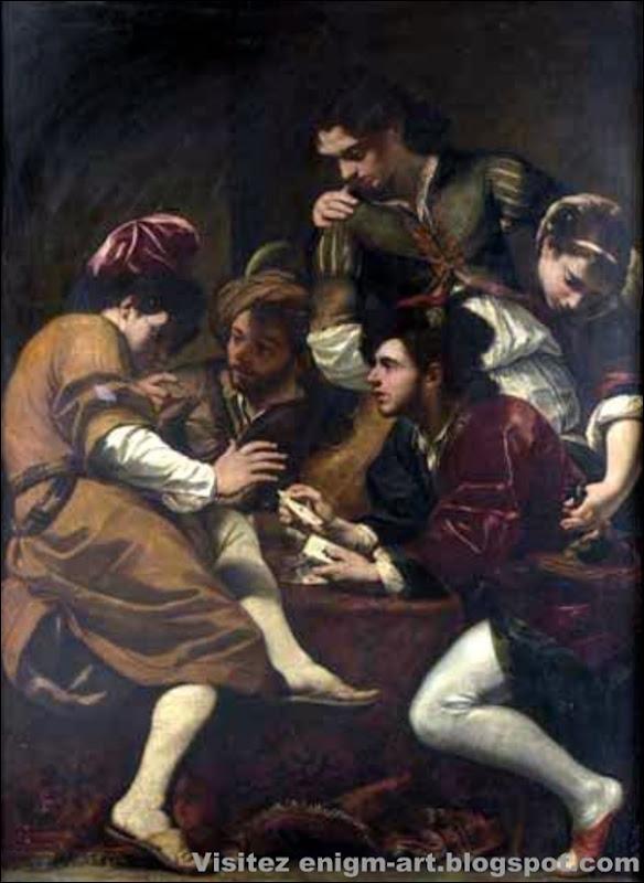 Giovanni Battista Boncori , Les Joueurs de cartes, vers 1670