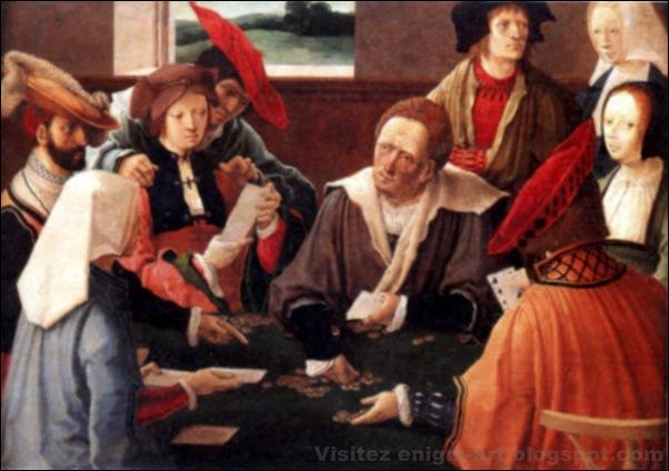 Luca da Leida, Joueurs de cartes, 1501