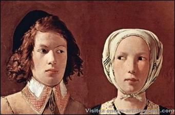 Détail, Georges de la Tour, La bonne aventure, 1632-1 [1600x1200]