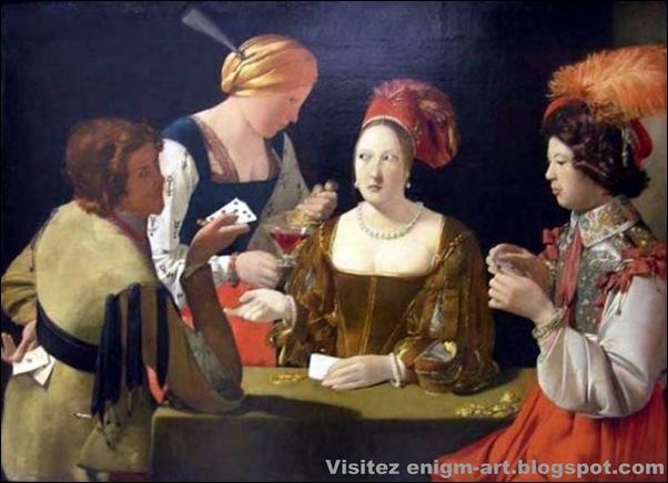 Georges de la Tour, Le tricheur, 1632