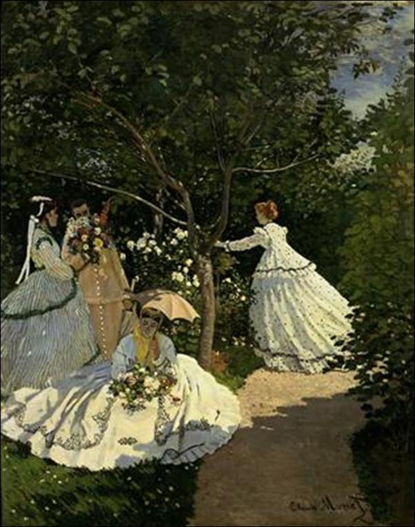 Claude Monet, Femmes au jardin