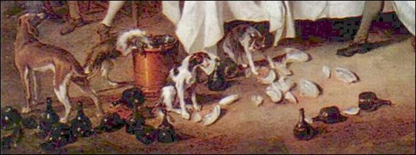 Nicolas Lancret, Le déjeuner de jambon, 1735-1
